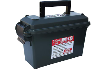 MTM Water-resistant O-ring Sealed Ammo Can 30-Caliber Military Style Forrest Green AC30T-11
