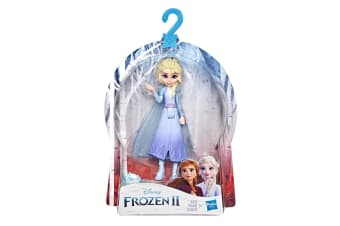 Disney Frozen 2 Elsa Small Doll With Removable Cape