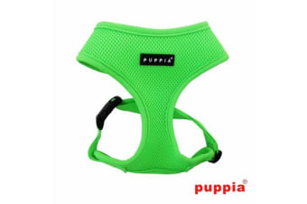 Puppia Neon Dog Harness Green - L
