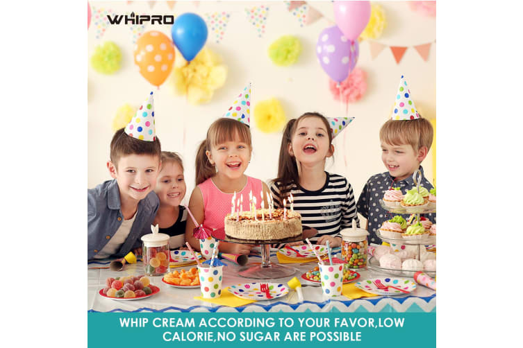 Whipro 10 pack N2O cream charger cartridges-8 gram