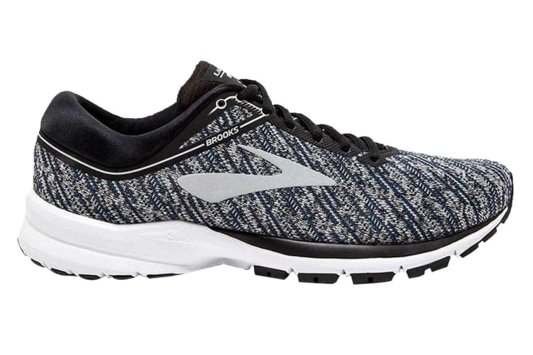 Brooks Women's Launch 5 (Black/Ebony/Primer Grey, Size 7.5)