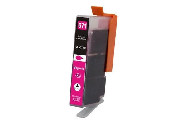 CLI-671XL Magenta Premium Compatible Inkjet Cartridge