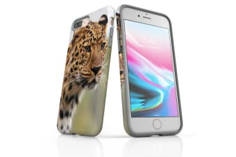 For iPhone 8 Plus Case  Protective Back Cover  Preying Cheetah