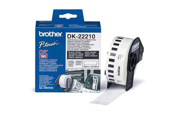 BROTHER Bro DK-TAPE DK22210 29mm x 38.40m roll
