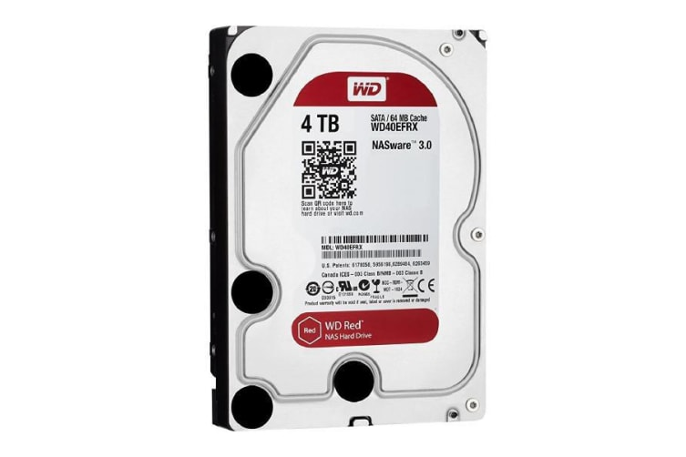 WESTERN DIGITAL WD NAS Red 4TB WD40EFRX - 10 Units
