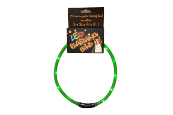 The Animate Company Walking Mate Flashing LED Band (Green)
