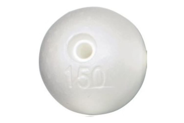 12 x 6 Inch Poly Floats - Ideal for Crab Pots and Crab Traps - Crabbing Floats