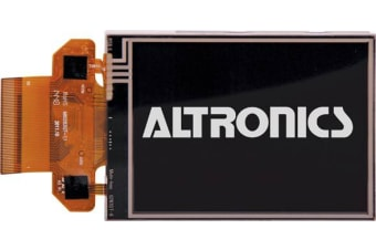 Altronics 320x240 LED Backlit 2.8 Inch 64K Colour Touchscreen TFT Display