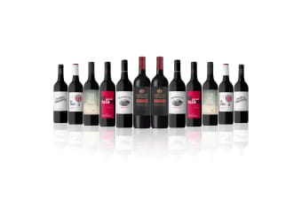 Mixed Australian Red Dozen feat. Limited Edition Rawson's Retreat Cabernet Sauvignon (12 Bottles)