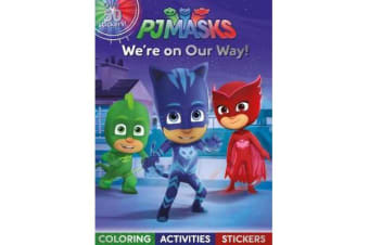 PJ Masks We're on Our Way! - Coloring, Activities, Stickers