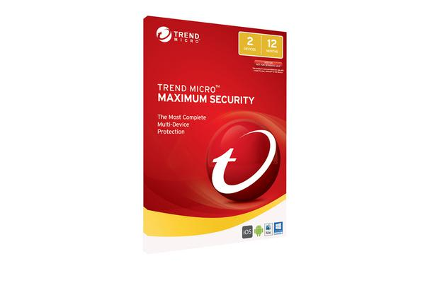 Trend Micro Maximum Security 2017 (1-2 Devices) 1 Year Multi-Device OEM