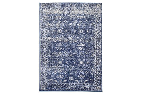 Oasis Navy Transitional Rug 400x300cm