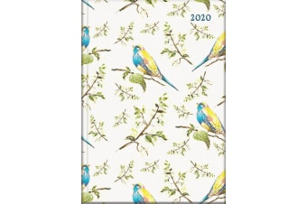 Birdsong - 2020 Diary Planner A5 Padded Cover by The Gifted Stationery