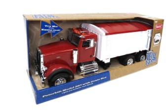 Tomy Peterbilt 367 Straight Dump Truck Toy Grain Box/Big Farm Series Light Sound