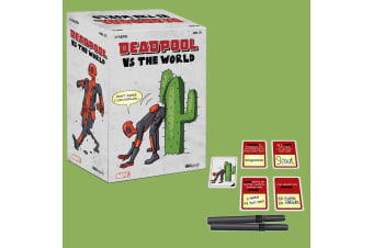 Deadpool Vs The World Adult Card Game | Official Marvel
