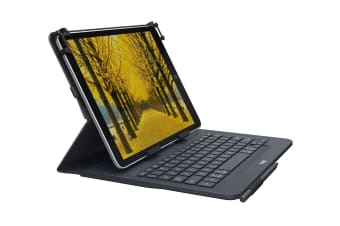 Logitech Universal Folio KBD For 9-10 Inch Tablets - Black (920-008334)