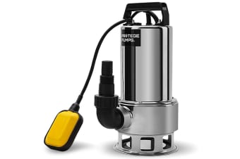 PROTEGE 2000W Submersible Dirty Water Pump Bore Tank Well Steel Automatic