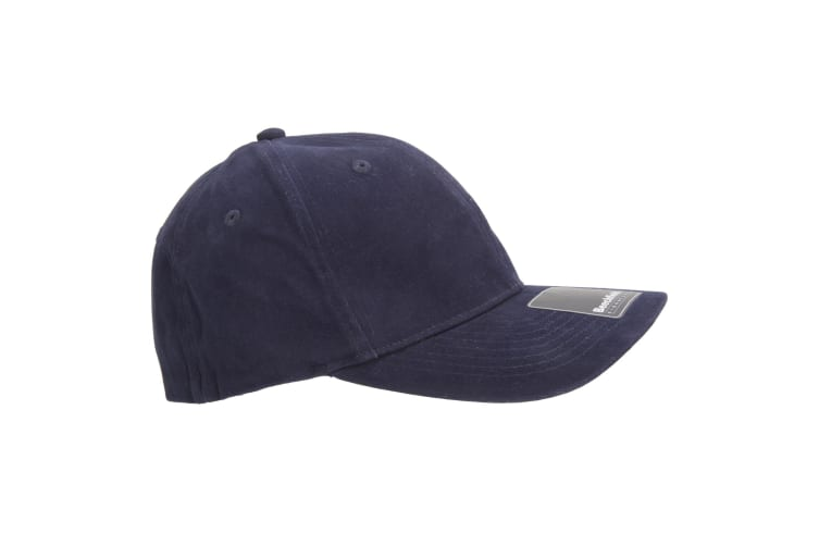 Beechfield Adults Unisex Signature Stretch-Fit Baseball Cap (Pack of 2) (French Navy) (S-M)
