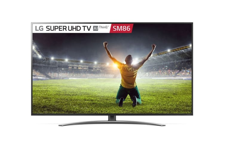 "LG SM86 Series 55"" 4K Super UHD ThinkQ AI Smart LED TV"