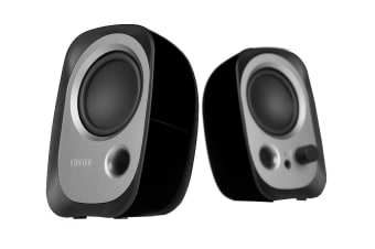 Edifier R12U 2.0 USB Multimedia Speakers - Black (SPE-R12U-BK)