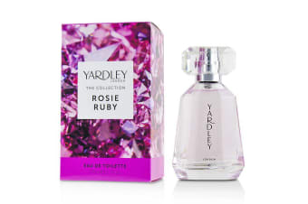 Yardley London Rosie Ruby Eau De Toilette Spray 50ml