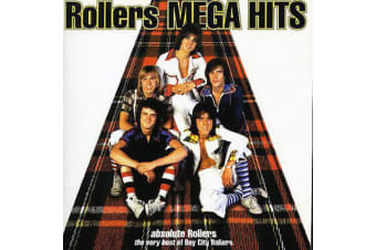 Bay City Rollers – Rollers Mega Hits - Absolute Rollers - The Very Best Of PRE-OWNED CD: DISC EXCELLENT