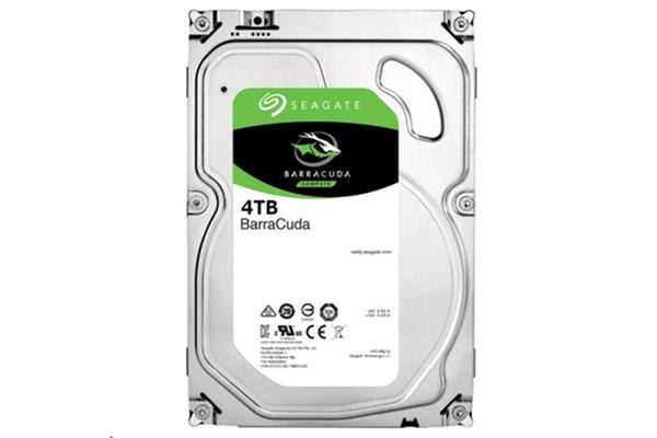 "Seagate BarraCuda, 4TB SATA 6.0Gb/s 3.5"" 64MB Cache, 5900RPM,Internal Hard Drive"