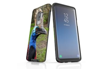 For Samsung Galaxy S9+ Plus Case Armour Cover  Cassowary
