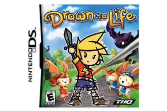 DRAW TO LIFE Nintendo DS Game - Disc Like New