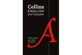 Collins English Dictionary Paperback edition - 200,000 Words and Phrases for Everyday Use