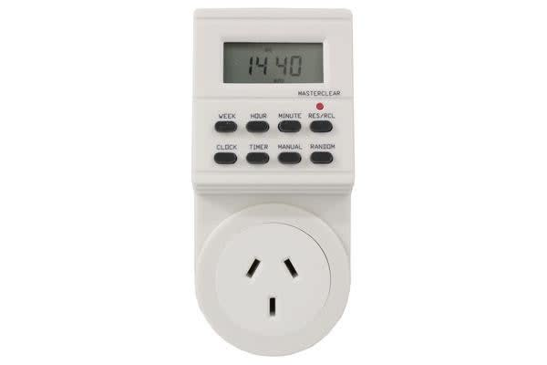 Multifunction Programmable Electronic Digital Timer Lcd Display 24Hr Ts-Ea1