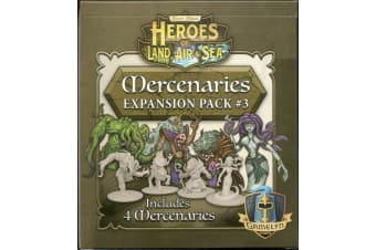 Heroes of Land  Air & Sea - Mercenaries Pack 3