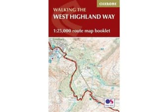 West Highland Way Map Booklet - 1:25,000 OS Route Mapping