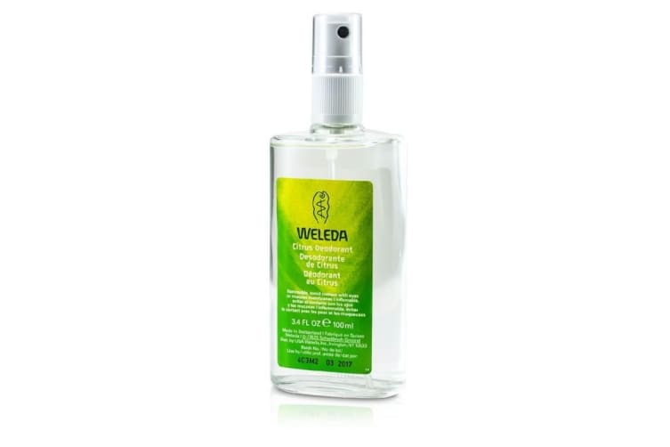 Weleda Citrus Deodorant 100ml/3.4oz