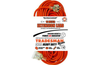Ultracharge 15M Heavy Duty Extension Lead