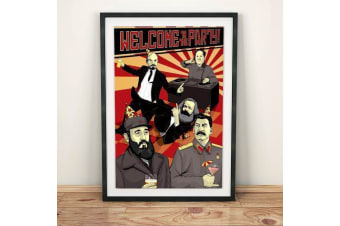 Welcome To The Party Communism Wall Poster 61 x 91cm - Comedy Wall Hanging Funny