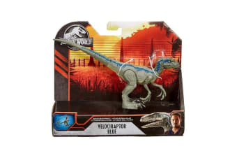 Jurassic World Savage Strike Velociraptor Blue Dino