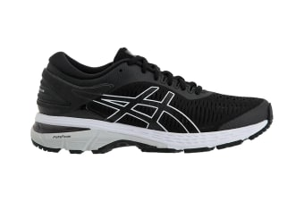 ASICS Women's  Gel-Kayano 25 Running Shoe (Black/Glacier Grey)