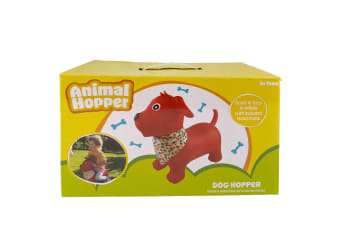 Animal Hopper Kids Fun Bounce Jumping Outdoor w/Handle Ride On Toy Dog 3+