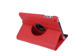For iPad mini 1 / 2 / 3 Case  Durable High-Quality Leather Cover Red