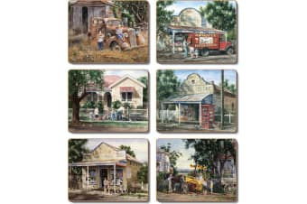 Cinnamon Times Now Past Placemats Set of 6