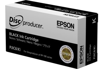 Epson Discproducer Ink Cartridge, Black (MOQ=10)