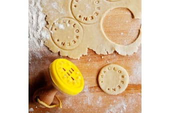 Customisable Cookie Stamp Biscuit Cutter Write Words Baking Personalised Cooking Kitchen