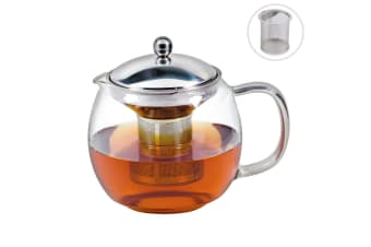 Avanti 1.5L Ceylon Glass Teapot w  Removable Stainless Steel Infuser Tea Pot