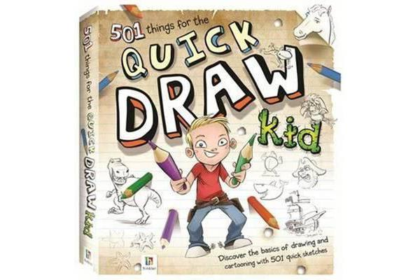 Image of 501 Things for the Quick Draw Kid