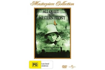 All Quiet On the Western Front DVD Region 4
