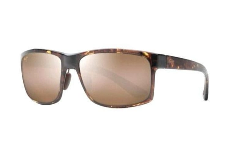 Maui Jim Pokowai Arch H439-15T Olive Tortoise Mens Womens Sunglasses Polarised