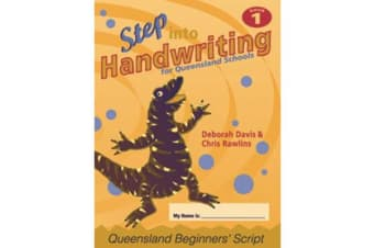 Step into Handwriting for Queensland Year 1