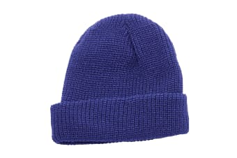 Regatta Unisex Fully Ribbed Winter Watch Cap / Hat (Classic Royal)