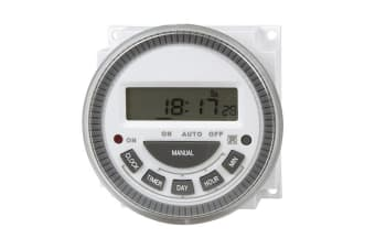 12VDC Digital Mains Timer Switch Module with LED indicator